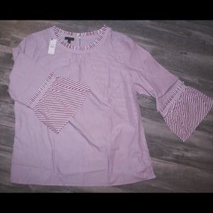 Bell Sleeved Talbots Blouse